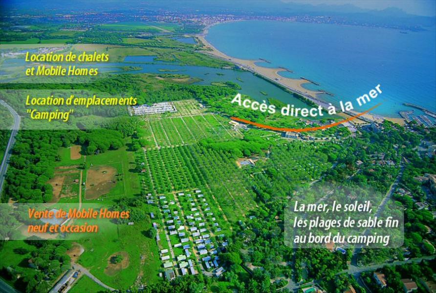 camping fréjus accès direct plage